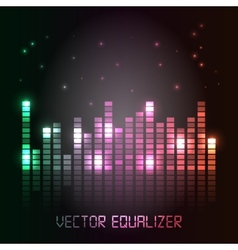 Cool equalizer background vector