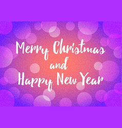 happy new year background decoration with bokeh vector image