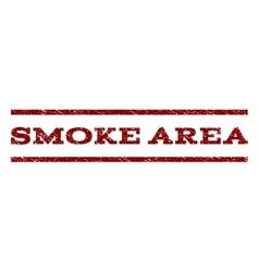 Smoke area watermark stamp vector