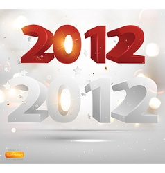 Bright 2012 christmas background set vector