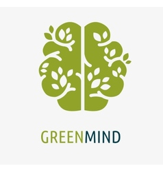 Brain creation idea icon and element vector