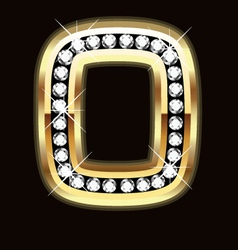 o bling vector image