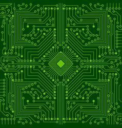 An electronic board vector