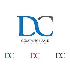 D letter logo vector