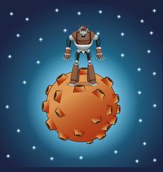 Robot inteligence artificial machine vector