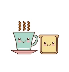 Breakfast icon design vector
