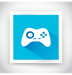 Icon of joystick for web and mobile applications vector image