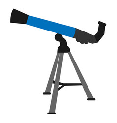 Isolated telescope icon vector