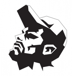 man wearing cap vector image vector image