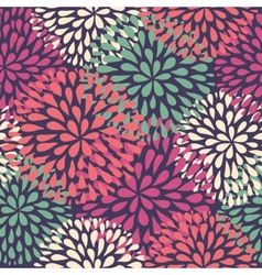 Seamless pattern modern floral texture stylish vector
