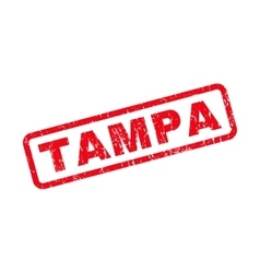 Tampa rubber stamp vector
