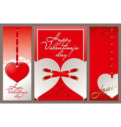 Valentine Hart vector image