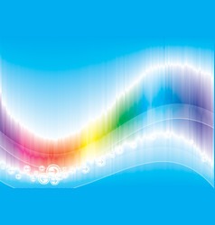 color wave vector image