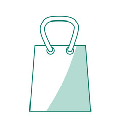 Shopping bag isolated vector