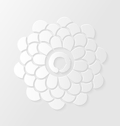 Lotus flower and Zen circle vector image