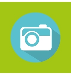 Man tourist traveler camera picture photo design vector