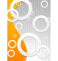 Technology bright design vector image