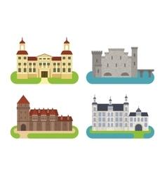 Castle cartoon vector