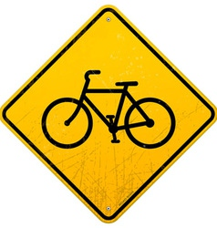 Bike sign vector