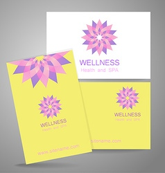 Wellness logo vector