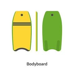 Body Board vector image vector image