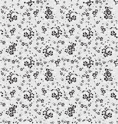 Seamless lace pattern texture vector image vector image