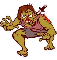 Zombie vector image