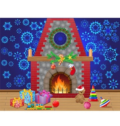 Fireplace 04 vector