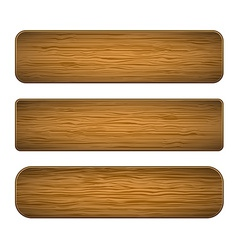 Wood planks vector