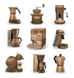 Coffee grinder vector