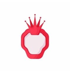 Royal banner icon cartoon style vector image vector image