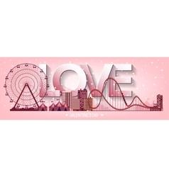 Valentines day love 14 vector