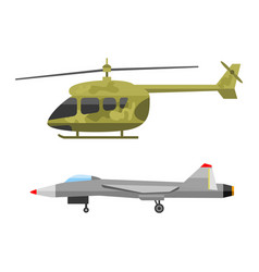 Military technic army war air helicopter transport vector