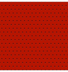 Abstract dotted red metal background vector