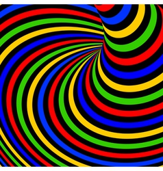 Design colorful vortex movement background vector