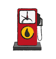 Oil industry related icons image vector