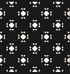 simple seamless pattern with rounded figures vector image vector image
