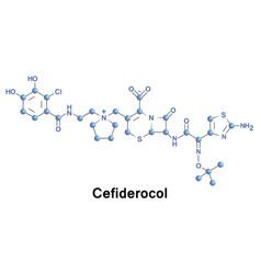 Cefiderocol cephalosporin antibiotic vector