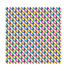 Cmyk pattern seamless vector
