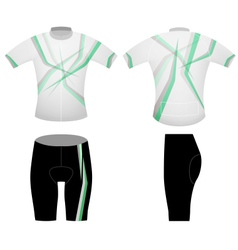 Green leaf t shirt vector