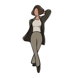 Anonymous femail avatar vector