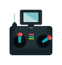 Drone control remote icon vector