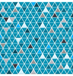 Seamless pattern of small triangles vector