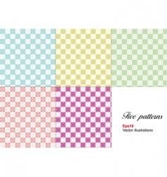 wallpaper patterns vector image