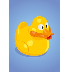 Yellow duck vector