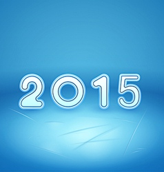 2015 on Ice vector image vector image