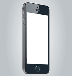 Realistic black apple iphone 5s and iphone 6 plus vector