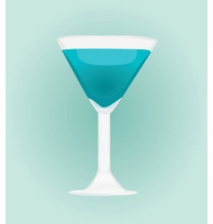 coctail vector image
