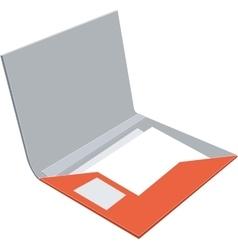 Folder 06 vector image vector image