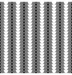 Design seamless monochrome vertical pattern vector